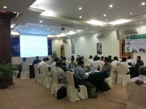 Participants in the project consultation workshop, Angkor Paradise Hotel, Siem Reap, Cambodia