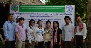 PRA study team in Kok Kandal Village