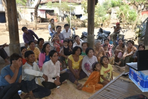 Training for cassava farmers in Chhouk Sandal village, Tboung Khmum