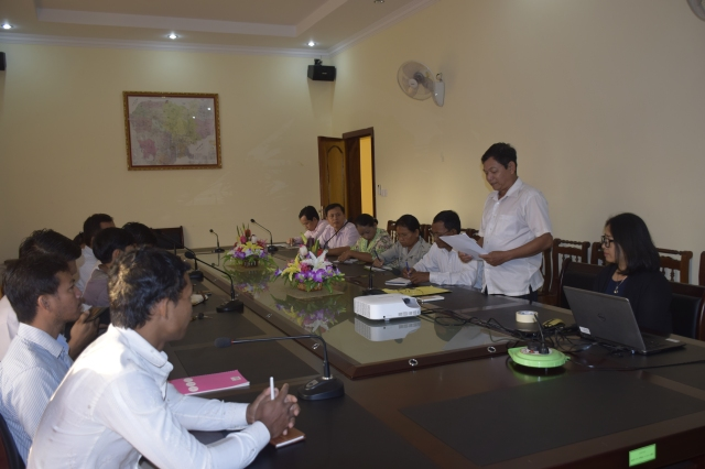 Validation meeting in Preah Vihear © Sophors