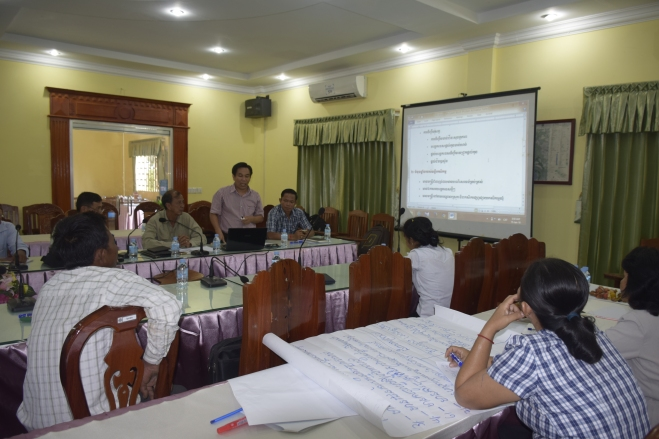 Validation meeting in Kampong Thom